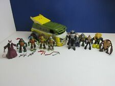 TMNT 2012 SET action figure TEENAGE MUTANT NINJA TURTLE viacom PARTY WAGON VAN