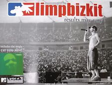 """Limp Bizkit """"Results May Vary"""" Thailand Promo Poster - Fred Durst In Concert"""