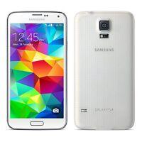 New Overstock Samsung Galaxy S5 White Verizon SM-G900V 16GB Smartphone