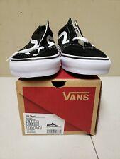 VANS OLD SKOOL Black & White Sneaker Shoes -  Mens 8.5 / Womens 10 - NIBWT