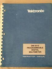 Tektronix Dm 5010 Instruction Manual 070-2994-00 Original