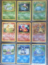 Pokemon 100% Complete 151/150 Set - Original Cards - Base 1999