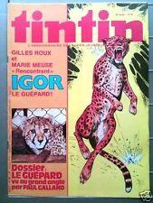 Tintin n° 367 - 1980  Dossier Le Guépard