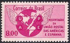 Brazil 1962 UPAEP 50th Anniv/Globe/Post/Mail/Map/Postal History 1v (n28502)