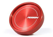 Perrin Performance Oil Fill Cap Round Style (Red) for Subaru and FRS BRZ