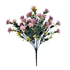 Mini Artificial Succulent Plant Bush 35cm/14 Inches Lavender