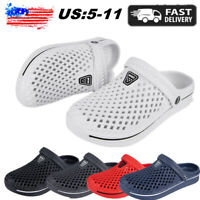 Rubber Memory Foam Shoes Water Slip on Mule Sandal Classic Outdoor Lightweight