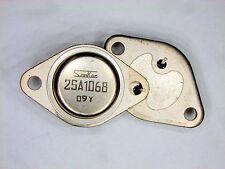 "2SA1068 ""Original"" Sanken all metal Transistor 2 pcs"
