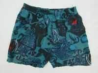 Vintage Curacao Mens Board Shorts Size L Beach 90s Bright Loud Surfing