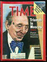 TIME MAGAZINE - May 5 1986 VLADIMIR HOROWITZ / Ronald Reagan / Ayatullah / USSR