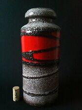 Scheurich Pop 30cm Vase 70s 70er fat lava, kreutz  otto  es Ü ära