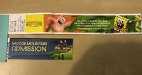 Mall of America Venue Tickets Nickelodeon Universe and  Moose Mountain Golf