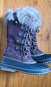 Sorel Women's Joan of Arctic Winter Boots Size 8.5