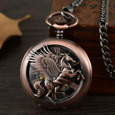 Exquisite Pegasus Pocket Watch Timepiece! From The Gorben Collection - The