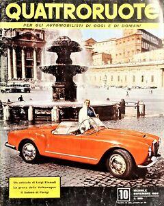 Rivista Mensile per Automobilisti di Oggi e di Domani - Quattroruote N.10 - 1956