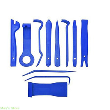 11pcs Blue Nylon Car Door Trim Panel Dash Audio Stereo GPS Molding Removal Tools