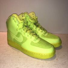 df11edb8f03 Rare Used 2011 Nike Air Force 1 Hyperfuse Volt Premium HI HYP PRM - Size 7.5