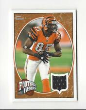 2008 UD Heroes Bronze #23 Chad Johnson JERSEY Bengals /75