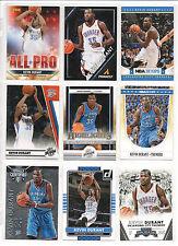 Kevin Durant Basketball Cards !! Verschiedene Jahren, Series !!