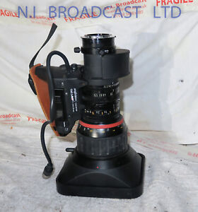 """Angenieux t15x8.3b1esm 2/3"""" broadcast HR high resolution lens with 2x extender"""