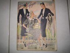 CATALOGUE  GENERAL GALERIES LAFAYETTE ETE 1938