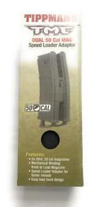 New Tippmann Dual 50 Cal TMC Speed Loader Adaptor with Coupler, Black