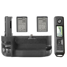 Neewer LCD 2.4G Remote Control Vertical Battery Grip Replacement for VG-C2EM