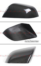 FOR 17-2020 TESLA MODEL 3 DIRECT ADD-ON REAL CARBON FIBER SIDE MIRROR COVERS CAP