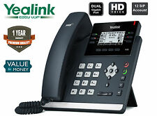 Yealink T42S IP Phone Ultra-Elegant Gigabit 12 SIP IP Phone For Business