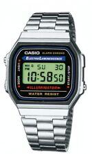 Casio Herrenuhr Uhr Unisex Digital Retro Armbanduhr Digitaluhr A168WA-1YES
