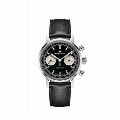 New Hamilton Intra-matic H Chronograph Mechincal Leather Strap H38429730 40mm