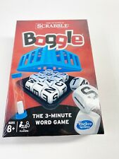 Hasbro Scrabble Boggle Board game 2014 sealed 3-minute word game entertainment