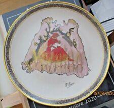 piatto collezione IL CARDILLO D'ORO 1980 dis. M. RUSSO tir. 586/1500