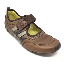 Women's Tsubo Loafers Shoes Size 8.5M US/39.5 EU Brown Leather Mary Jane AA1