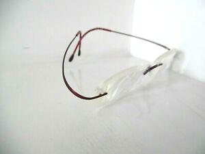 Unisex Silhouette Titan Merlot Red Rimless Eye Glasses M 7395 /40 V6066 21 50