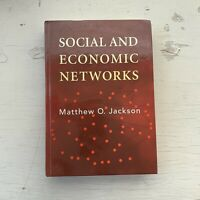 Social and Economic Networks by Matthew O. Jackson (2008, Hardcover)