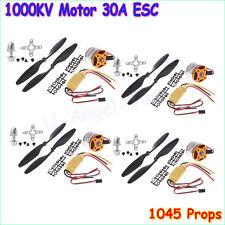 HOT sale 4x A2212 1000KV Brushless Outrunner Motor +30A ESC+1045 Propeller