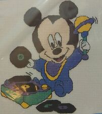Disney Babies Counted Cross Stitch Kit Mickey Mouse Shake Rattle & Roll 32006