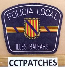 ILLES BALEARS, SPAIN POLICIA LOCAL POLICE SHOULDER PATCH 2