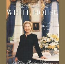 An Invitation to the White House : Hillary Rodham-Clinton SIGNED Christmas