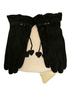 Dents Womens Suede Leather Gloves -