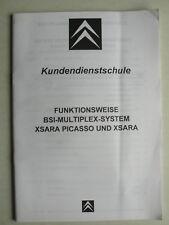 Service client école Citroen Xsara/Xsara Picasso-BSI-Multiplex Système partie 1-3