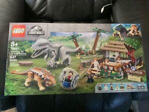 LEGO JURASSIC WORLD INDOMINUS REX VS. ANKYLOS. Set # 75941