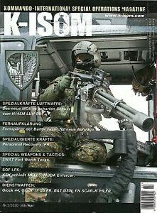K-ISOM 2/2020 Kommando Special Operations KSK Helikopter H145 SWAT FN SCAR NEU