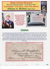 Medal of Honor Recipient ~ Vera Cruz (Mex/Am) ~ US Navy ~ William A. Moffett