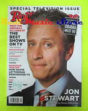 ROLLING STONE USA MAGAZINE 1140/2011 Jon Stewart Letterman Paul McCartney No cd