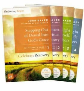 Celebrate Recovery Updated Participant's Guide Set, Volumes 1-4: A Recovery Prog
