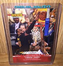 2016 Panini Instant NBA Finals LEBRON JAMES THE BLOCK #13 ONLY 532 MADE RED CAVS
