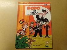 STRIP / ROBBEDOES EN KWABBERNOOT 28: KODO DE TIRAN | Herdruk 1994