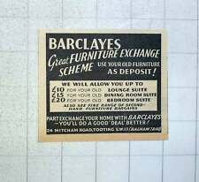 1960 Barclayes Great Furniture Exchange Scheme Mitcham Rd Tooting